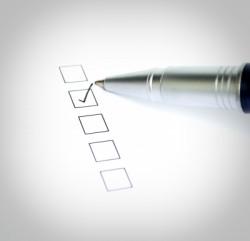 singles have a checklist